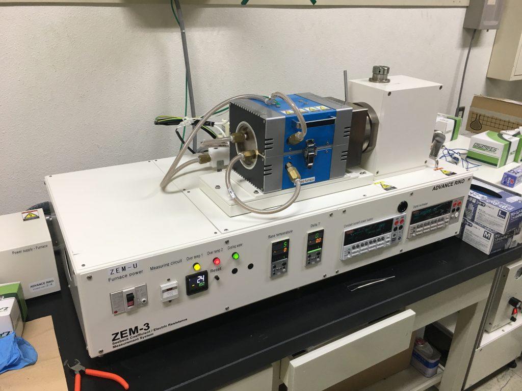 熱電特性測定装置_ZEM-3